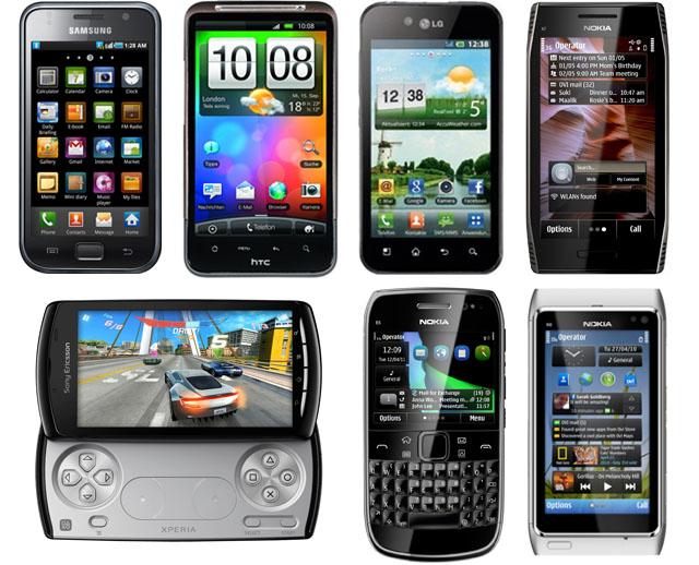 Лучшие смартфоны 2011 года: Hi-End