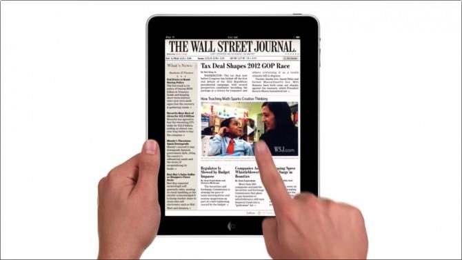Wall-Street-Journal-Apple-iPad-Iconic-ad