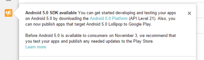 Android 5.0 SDK