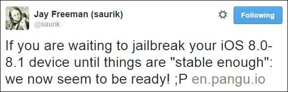Saurik-tweet