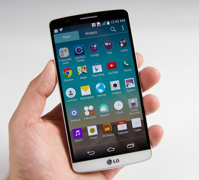 LG начинает обновлять LG G3 до Android 5.0