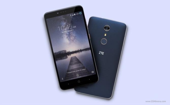 ZTE Zmax Pro: смартфон с датчиком отпечатков пальцев всего за 99 $