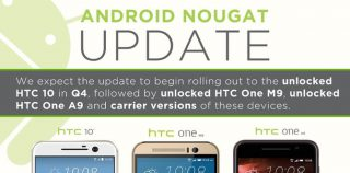 HTC 10 получит Android Nougat в четвёртом квартале