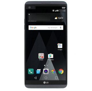 LG V20 с дополнительным дисплеем на фото