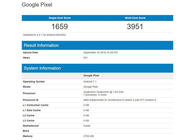 Винтернете появилась новая информация о телефоне Google PixelXL