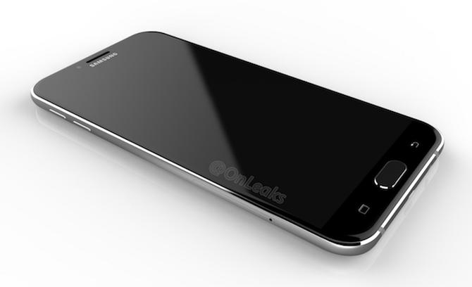Рендеры Самсунг Galaxy A8 (2016): смартфон состранностями