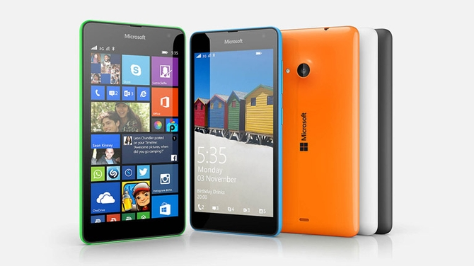 Продажи телефонов Microsoft Lumia значительно упали