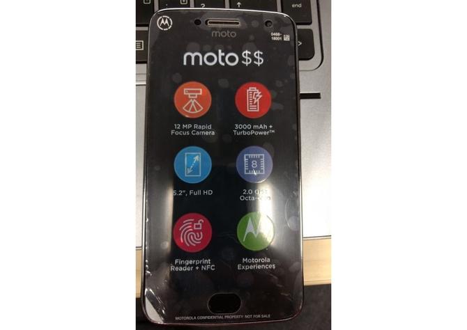 Вweb-сети интернет появилось новое фото Moto G5 Plus