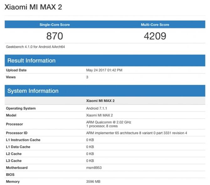 Xiaomi MiMax 2 вполне может стать зарядным приспособлением