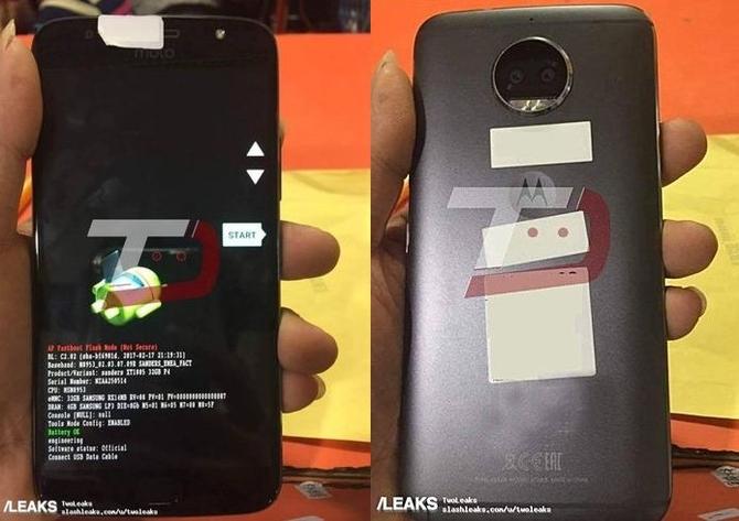 Размещены пресс-фото телефона Moto G5S Plus